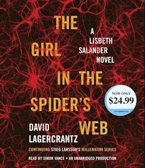 Lydbog, CD The Girl in the Spider's Web af David Lagercrantz