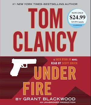 Lydbog, CD Tom Clancy Under Fire af Grant Blackwood