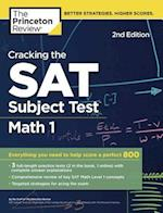 The Princeton Review Cracking the SAT Subject Test in Math 1 (Cracking the SAT Math Subject Test)