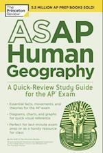The Princeton Review ASAP Human Geography (College Test Preparation)
