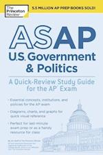 The Princeton Review ASAP U.S. Government & Politics (College Test Preparation)