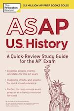 The Princeton Review ASAP U.S. History (College Test Preparation)