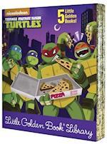 Teenage Mutant Ninja Turtles Little Golden Book Library (Teenage Mutant Ninja Turtles)