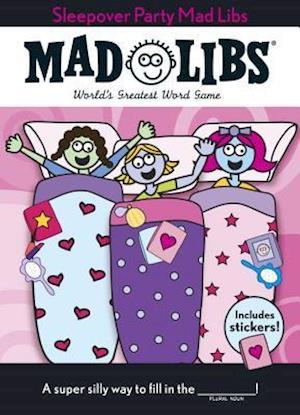 Bog, paperback Sleepover Party Mad Libs af Mad Libs