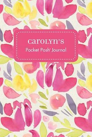Bog, paperback Carolyn's Pocket Posh Journal, Tulip