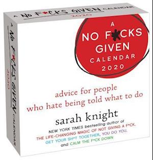 A No F*cks Given 2020 Day-To-Day Calendar