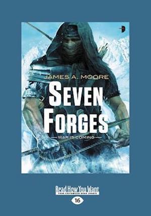 Bog, hæftet Seven Forges (Large Print 16pt) af James A Moore