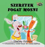 I Love to Brush My Teeth (Hungarian Bedtime Collection)