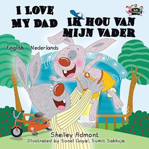 Bog, paperback I Love My Dad - Ik Hou Van Mijn Vader af S. a. Publishing, Shelley Admont