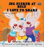 Jeg Elsker at Dele - I Love to Share (Danish English Bilingual Collection)