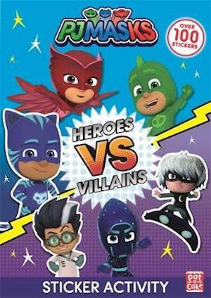 Heroes vs Villains Sticker Activity