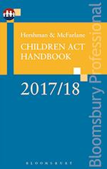 Hershman and McFarlane: Children Act Handbook 2017/18 (Bloomsbury Family Law)