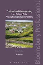 The Land and Conveyancing Law Reform Acts