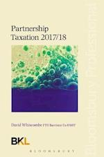 Partnership Taxation 2017/18