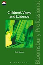 Children's Views and Evidence (Bloomsbury Family Law)