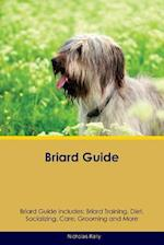 Briard Guide Briard Guide Includes: Briard Training, Diet, Socializing, Care, Grooming, Breeding and More