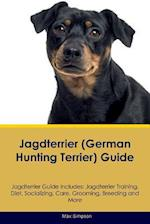 Jagdterrier (German Hunting Terrier) Guide Jagdterrier Guide Includes: Jagdterrier Training, Diet, Socializing, Care, Grooming, Breeding and More af Max Simpson