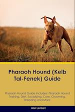 Pharaoh Hound (Kelb Tal-Fenek) Guide Pharaoh Hound Guide Includes: Pharaoh Hound Training, Diet, Socializing, Care, Grooming, Breeding and More