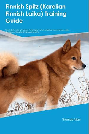 Bog, paperback Finnish Spitz (Karelian Finnish Laika) Training Guide Finnish Spitz Training Includes af Thomas Allan