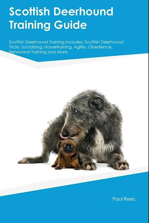 Bog, paperback Scottish Deerhound Training Guide Scottish Deerhound Training Includes af Liam Howard