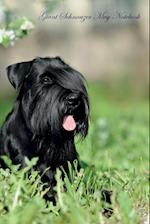 Giant Schnauzer May Notebook Giant Schnauzer Record, Log, Diary, Special Memories, To Do List, Academic Notepad, Scrapbook & More