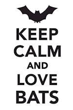 Keep Calm & Love Bats Notebook & Journal. Productivity Work Planner & Idea Notepad