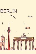 Berlin Notebook & Journal. Productivity Work Planner & Idea Notepad