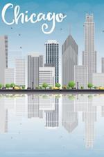 Chicago Notebook & Journal. Productivity Work Planner & Idea Notepad