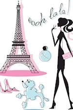 Paris Notebook & Journal. Productivity Work Planner & Idea Notepad