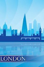 London Skyline Notebook & Journal. Productivity Work Planner & Idea Notepad