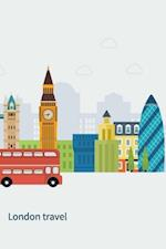 London Notebook & Journal. Productivity Work Planner & Idea Notepad