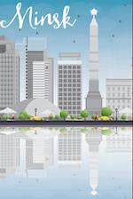 Minsk Notebook & Journal. Productivity Work Planner & Idea Notepad