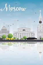 Moscow Skyline Notebook & Journal. Productivity Work Planner & Idea Notepad