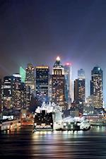 New York Skyline Notebook & Journal. Productivity Work Planner & Idea Notepad