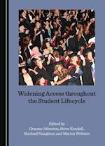 Widening Access Throughout the Student Lifecycle