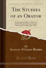The Studies of an Orator
