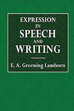 Expression in Speech and Writing