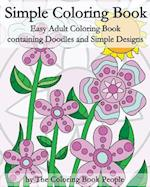 Simple Coloring Book af The Coloring Book People
