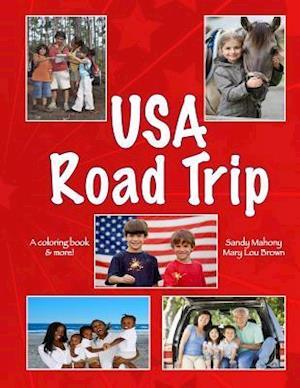 U.S.A. Road Trip Coloring Book