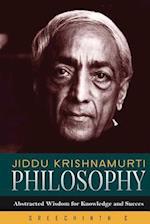 Jiddu Krishnamurti Philosophy