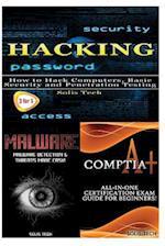 Hacking + Malware + Comptia A+