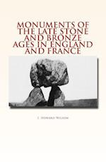 Monuments of the Late Stone and Bronze Ages in England and France af J. Howard Wilson
