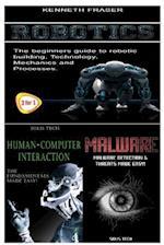 Robotics + Human-Computer Interaction + Malware