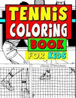 Tennis Coloring Book for Kids af Susan Potterfields