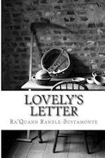 Lovely's Letter af Ra'quann Randle-Bustamonte