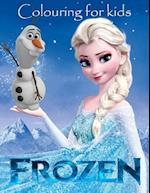 Colouring for Kids Frozen