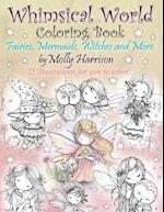 Whimsical World Coloring Book