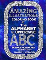 Amazing Illustration-The Alphabet in Uppercase-2 af Timothy L. Worachek