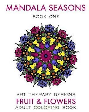 Bog, paperback Mandala Seasons af Maya Necalli, Art Therapy Designs