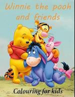 Colouring for Kids Winnie the Pooh and Friends